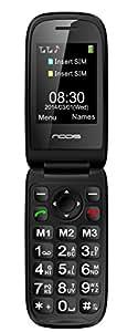 Nodis Senior SN-10 Cellulare, Nero [Italia]