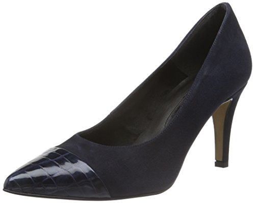 Tamaris Damen 22497 Pumps Blau (Navy 805)