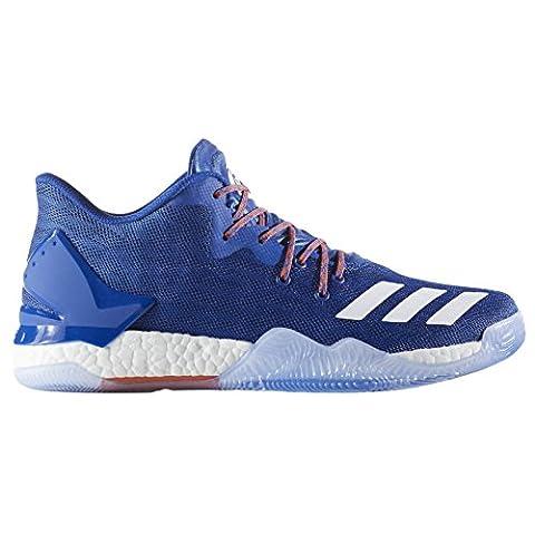 adidas D Rose 7 Low, Chaussures de sport homme - différents coloris - Multicolore (Azusld / Ftwbla / Naranj), 46 2/3 EU