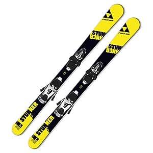 Ski Fischer Stunner SLR JR Freeski-Rocker komplett mit Bindung FJ4/7 AC Carving Jugendski / Kinderski für Jungen und Mädchen