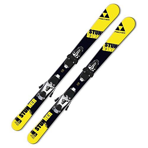 Ski Fischer Stunner SLR JR 2016 oder 2017 Freeski-Rocker komplett mit Bindung FJ4/7 AC Carving Jugendski / Kinderski für Jungen und Mädchen Test