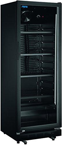 Saro 437-1012 GTK 360 Kühlschrank mit Umluftventilator, 360L, Schwarz