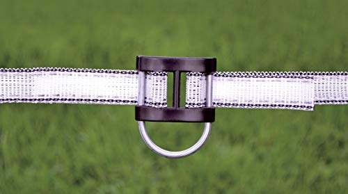 HORIZONT  14988C Bandverbinder, schwarz, 20mm