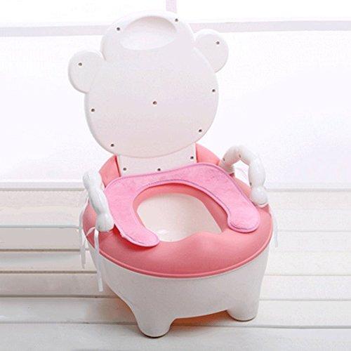 Töpfchen-Stuhl 3 in 1 Töpfchen-Stuhl Für Jungen Mädchen-Spaß-Baby-Reise-Toiletten-Trainer Trainingssitz Schritt-Schemel Entfernbare...