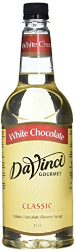 DaVinci Gourmet Classic White Chocolate Syrup Pet, 1er Pack (1 x 1 l)