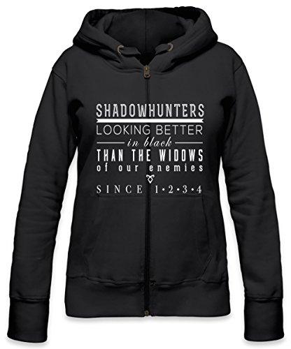 The Mortal Instruments Shadowhunters Womens Zipper Hoodie Medium Medium Zipper Hoodie