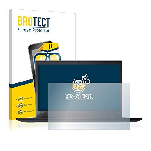 BROTECT Schutzfolie kompatibel mit Lenovo ThinkPad T470s UltraBook klare Bildschirmschutz-Folie