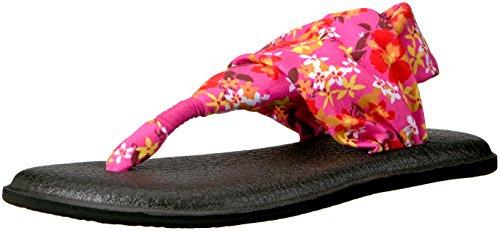 U-sling Gepolsterten Polyester (Sanuk Flip Flops/Zehentrenner Yoga Sling Prints (38))