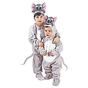 WIDMANN - Disfraz de gato para niños, multicolor, 104 cm/2 - 3 años, 36028