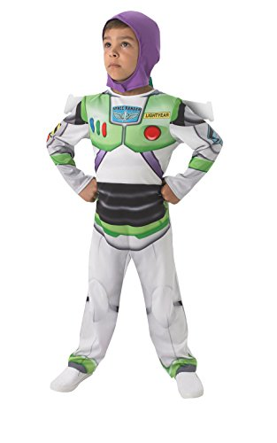 Buzz Lightyear - Kinder-KostŸm - Medium - 116cm (Deutsch Kostüme Für Kinder)