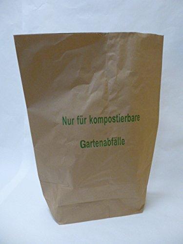 25 St. Papier-Bioabfallsäcke 120l Format 70x95x22 cm Motiv: