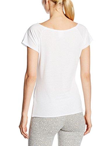 Champion Pantalon Boat Neck T-shirt Blanc