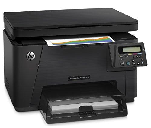Hewlett Packard M176n LaserJet Pro Laser-Multifuntkionsdrucker (Drucker, Scanner, Kopierer, Airprint Technologie, RJ-45, Hi-Speed USB 2.0) schwarz (Mobile Printer 100 Hp)
