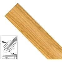 Wolfpack 2541125 Tapajuntas Adhesivo Para Moquetas Aluminio Roble 82,0 cm.