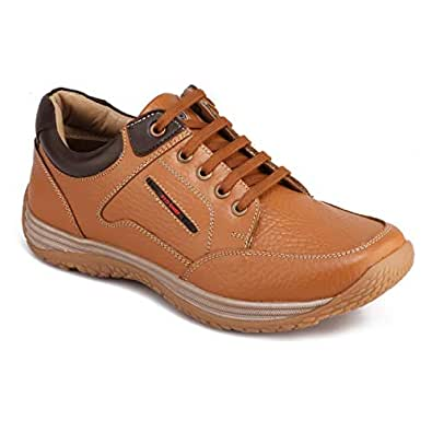 Red Chief Men's Elephant Tan Sneakers - 10 UK/India (44 EU)(RC3520 107)