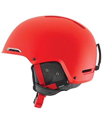 Rot Giro Snowboard-helm (GIRO Skihelm Battle, Mat Glowing Red, S, 240052-043)