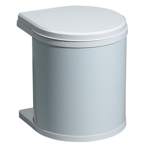 Hailo 3512-00 Mono Abfallsammer 12 Liter, weiß