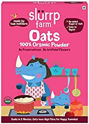 Slurrp Farm Natural Oats Powder | Instant Healthy Wholesome Food, 250 G