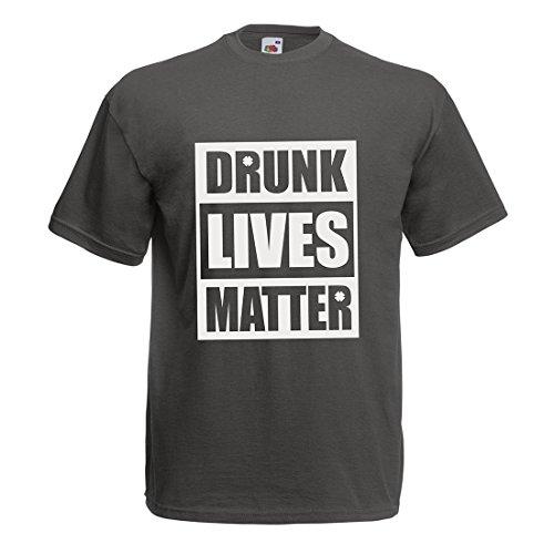 lepni.me Shirts For Men Drunk Lives Matter Funny Saint Patricks Shirts, ST Patty's Day Clothing