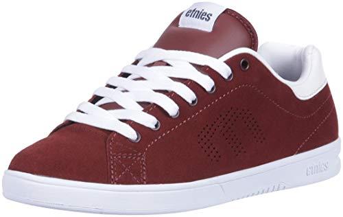 Etnies Herren Callicut Ls Skateboardschuhe, Rot (burgundy/white), 44 EU -