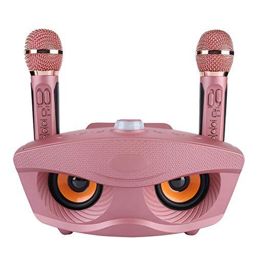 De Ashata Bluetooth Inalámbrica Equipo altavoz KaraokeKaraoke Para 2 Party Machine home Fiestas Con Portátil Máquina Micrófonos BreCWdxQo