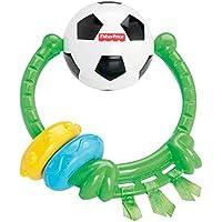 FISHER PRICE Fußball-Spielring Kuscheltier Plüschtier, mehrfarbig