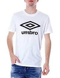 93807aac7846d Umbro Homme 19ETPU0162C39 Blanc Coton T-Shirt