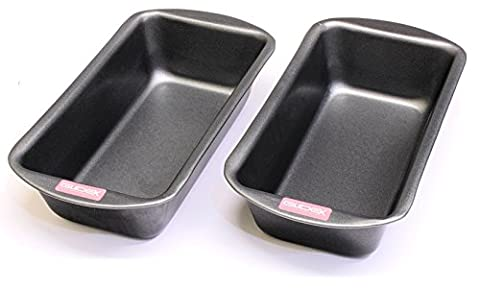 2lb Loaf Tin Twinpack, 2lb (900g) Capacity, British Made with GlideX ® TM Non Stick