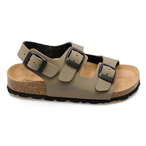 Grunland Luce unisex bambino, pelle liscia, sandali, 33 EU