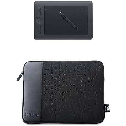 Set Wacom PTH-651-DEIT Intuos Pro Grafik-Tablett inkl. Wireless Kit + Wacom ACK-400022 Tragetasche