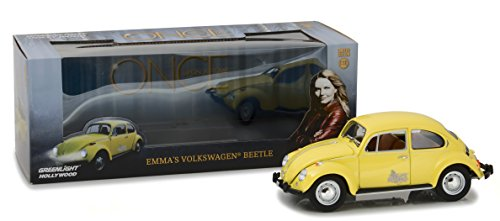 Greenlight Collectibles 12993 Volkswagen Beetle Emma - Once Upon A Time 2011 - Echelle 1/18, gelb