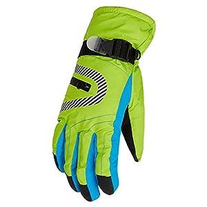 Eastlion Winter Winddicht Wasserdicht Draussen Thickering Reiten Skifahren Handschuhe für Kinder und Frauen