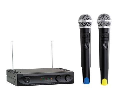 Acoustic Control mu-1002 - Microfono doppio senza fili + ricevitore