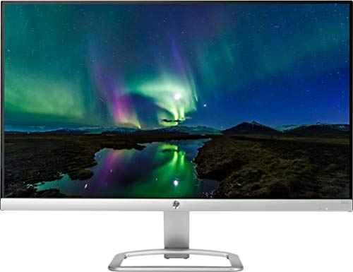 HP 23.8 inch (60.45 cm) Edge to Edge LED Backlit Computer Monitor - Full HD, IPS Panel with VGA, HDMI Ports - 24ES (Silver/Black)