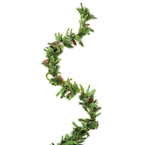 Majestic Garland with Pine Cones - 9 feet (1 Pack) - Darice Garland