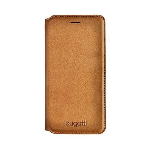 Bugatti 26301 Booklet Hülle Parigi für Apple iPhone 7 cognac Cognac