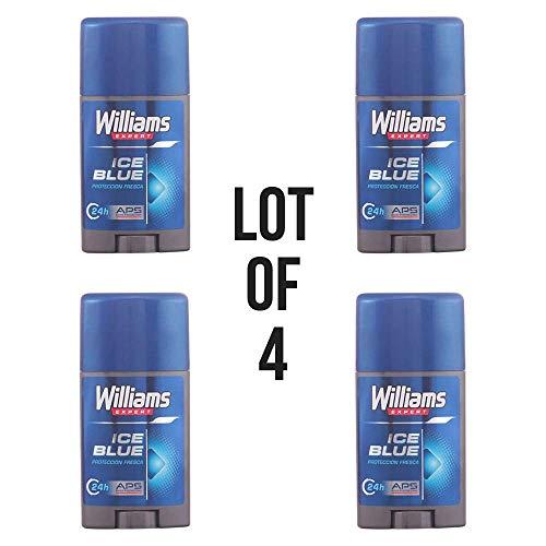 Desodorante Stick Ice Blue Williams 75 ml lote 4 barras