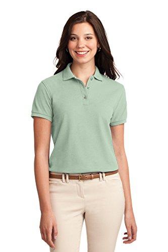 Port Authority - Polo - Body chemise - Femme vert menthe
