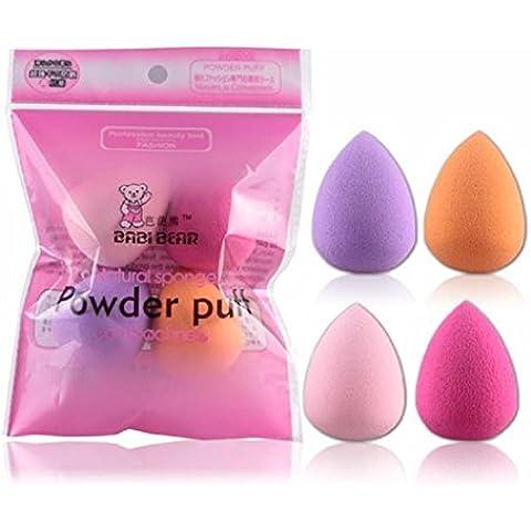 Ularma Lindo 4pcs pro belleza maquillaje impecable Blender Foundation Puff multi - forma esponjas