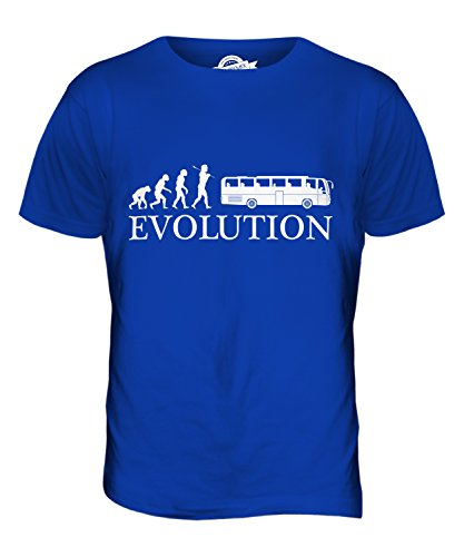CandyMix Reisebus Evolution Des Menschen Herren T Shirt Königsblau