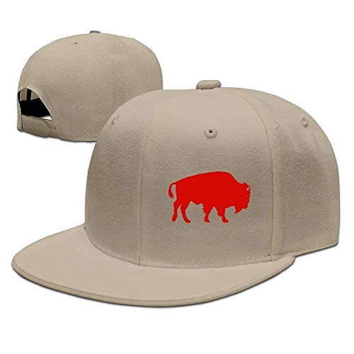 Preisvergleich Produktbild Aeykis Bison Unisex Adjustable Flat Brim Baseball Cap Hip Hop Hat V003593