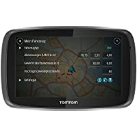 TomTom Trucker 6000 Lifetime GPS Sat Nav, Full Europe, Lifetime Maps and Traffic Designed for Truck, Coach, Bus, Caravan, Motor-homes and Other Large Vehicles