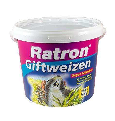 Ratron Giftweizen, Mäuseköder und Rattenköder - 5000 g von Frunol