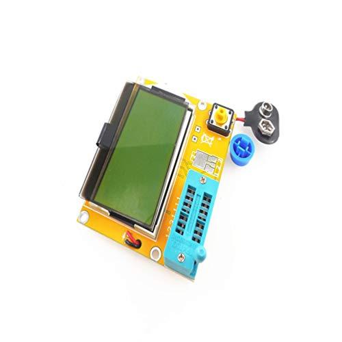 Preisvergleich Produktbild Tragbare HW-308 ESR Meter Transistor Tester Digital 12864 LCD Bildschirm Tester Tragbare Elektrische Instrumente - Multicolor