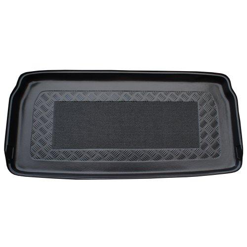 ZentimeX Z902741 Vasca baule su misura con superficie scanalata e integrato tappeto antiscivolo
