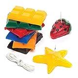 Baker Ross Ltd EV948 - Kit per Realizzare Candele, Colori Assortiti
