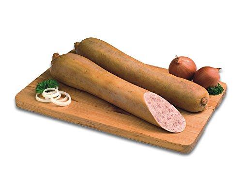 Gutsleberwurst, geräucherte Leberwurst im Naturdarm 800 g Das Original von Dieter Hein