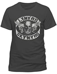 Live Nation Lynyrd Skynryd - Biker Patch Men's T-Shirt