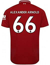 2018-2019 Liverpool Home Football Soccer T-Shirt Camiseta (Alexander Arnold 66)