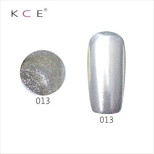 topbeauty Nail Art Paillettes Brillant miroir chrome Pigment poudre Nail Art Outils avec éponge à 13